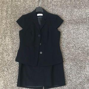 Calvin Klein black two piece suit